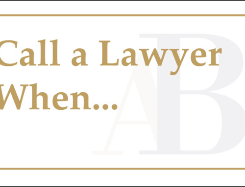 Call a Lawyer When…You Get Injured at Work