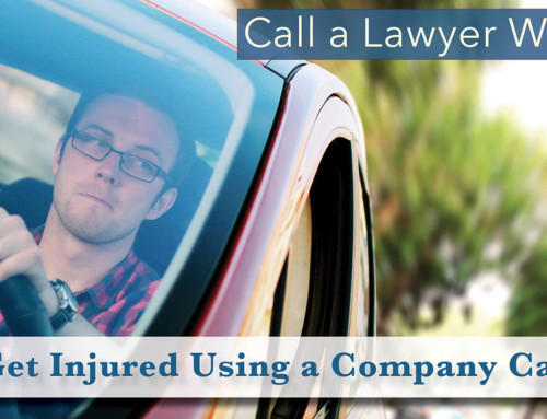 Call a Lawyer When…You Get Injured Using a Company Car